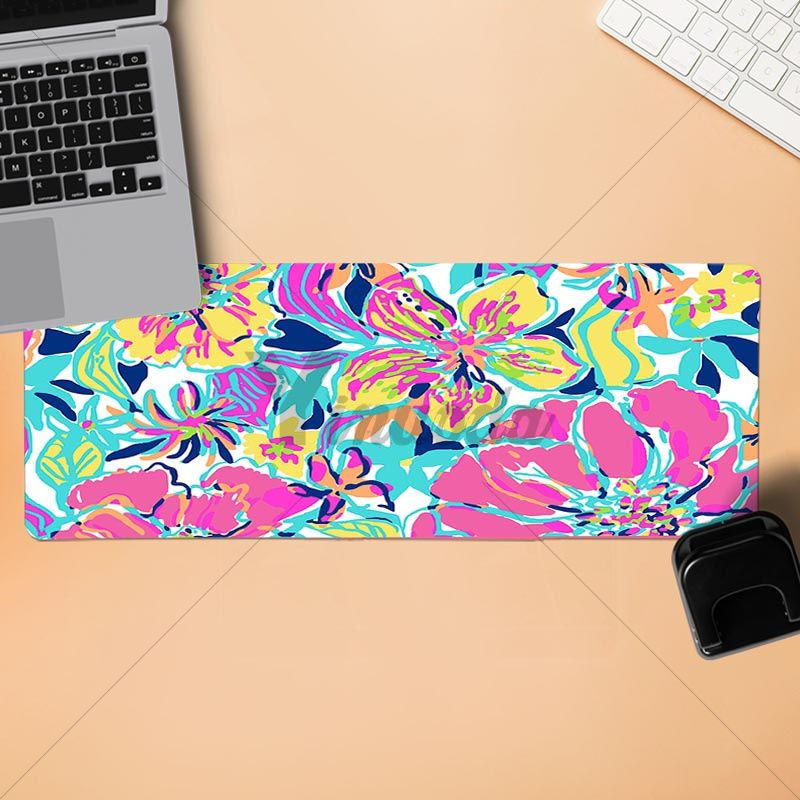 Yinuoda Lilly Flower Fish Pulitzer Office Mice Gamer Soft Mouse Pad Size  For 180*220 200*250 250*290 300*900 And 400*900*2mm In Mouse Pads From  Computer ...