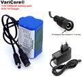 VariCore Protect 7 4 V 5200 mAh 8 4 V 18650 Li-lon батарея велосипедные фары головная лампа специальный аккумулятор DC 5 5 MM + 1A зарядное устройство