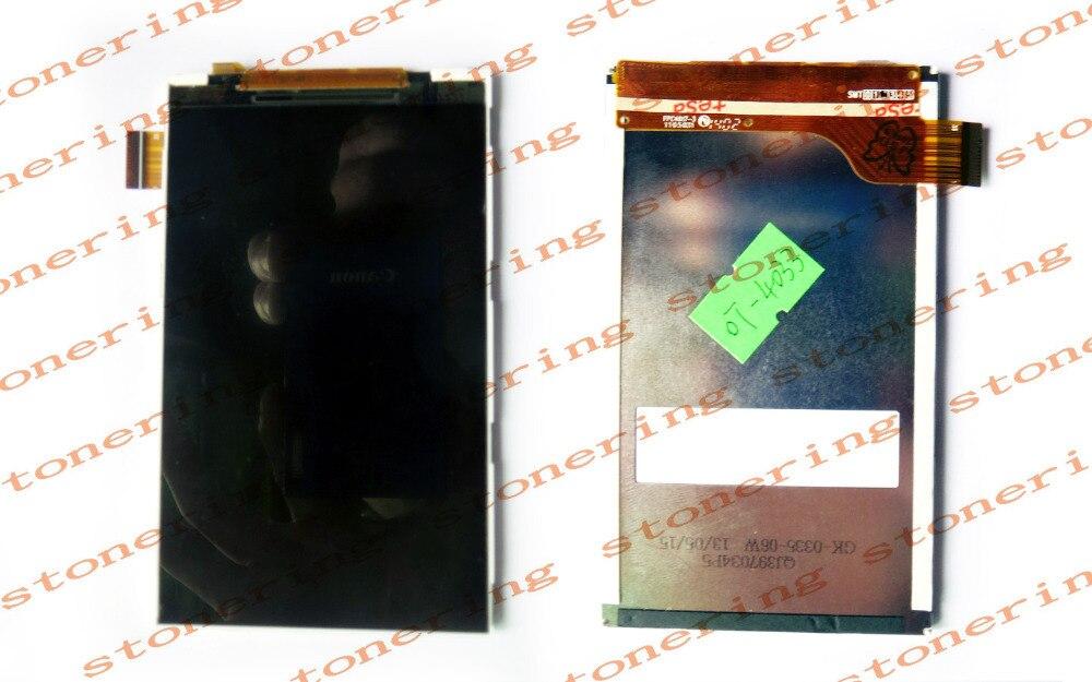 New LCD Display+ screw Driver tools for Alcatel One Touch POP C3 Dual OT-4033E OT4033 4033A 4033D 4033X 4033 Phone d a t e кеды pop glitter