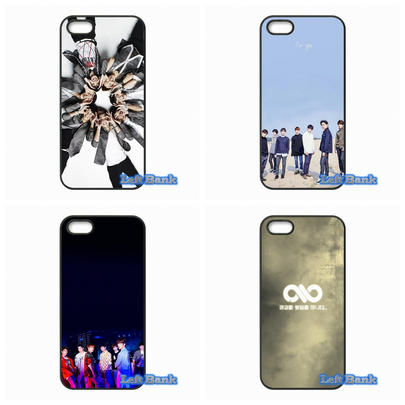 Infinite Kpop Phone Cases Cover For Apple iPhone 4 4S 5 5S 5C SE 6 6S 7 Plus 4.7 5.5 iPod Touch 4 5 6