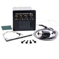 KITARA 2 Band EQ Preamp Equalizer Settings Ukulele Guitar Pickups Piezoelectric Black Pickup Support Wholesale Free