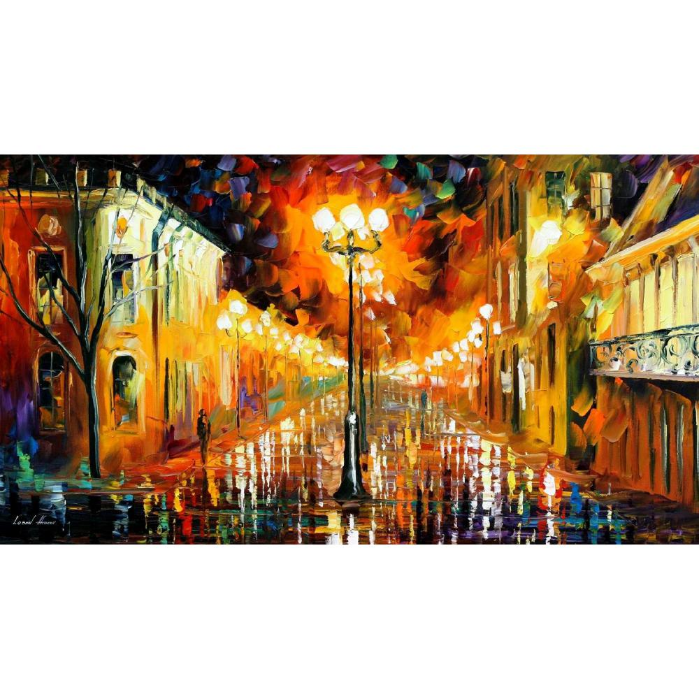 Modern Art Paintings For Sale Night Mystery Knife Oil