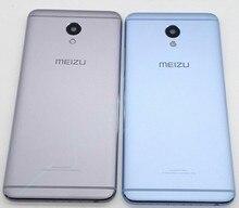Nieuwe Voor MEIZU M5 Note Onderdelen Terug Batterij Cover Deur Behuizing + Camera Flash Lens Vervanging Gratis Verzending