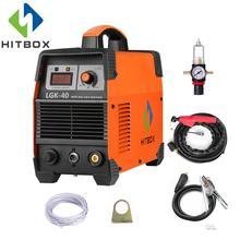 HITBOX 220V palnik plazmowy CUT40 grubość cięcia 12mm dla wszystkich rodzajów stali czyste maszyny do cięcia technologii MOSFET
