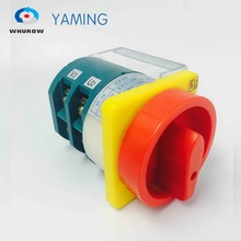 HZ12-40/04 OFF-ON 2 Position Phases With Protective Plastic Cover Emergency Stop Padlock Power Cut Off Motor Rotary Cam Switch