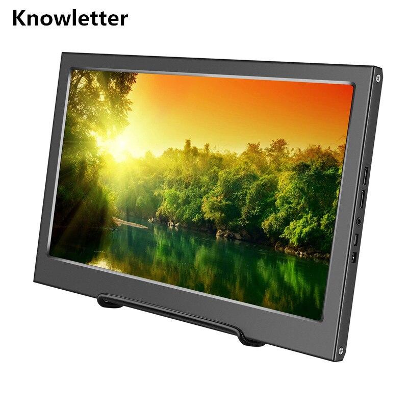 """13,3 """"2 K Tragbare Metall Hd Monitor 2560x1440 Ips Panel Ps3 Ps4 Xbox360 Display Monitor Für Raspberry Pi Windows 7 8 10 Entlastung Von Hitze Und Sonnenstich"""