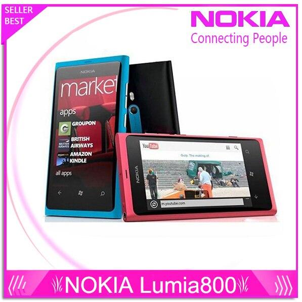 Teléfono original Lumia 800 Windows Phone 3.7 \