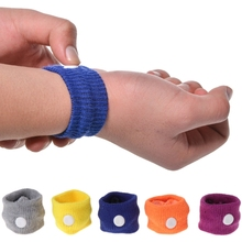 Anti Nausea Wrist Band Support Wristband Carsickness Seasick Sickness Bracelet Travel