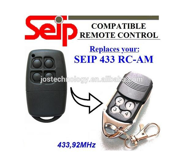 Compatible remote replace for SEIP 433 RC-AM 433,92mhz remote free shipping seip remote rc am mode replacement 433 92mhz seip garage door remote seip openers