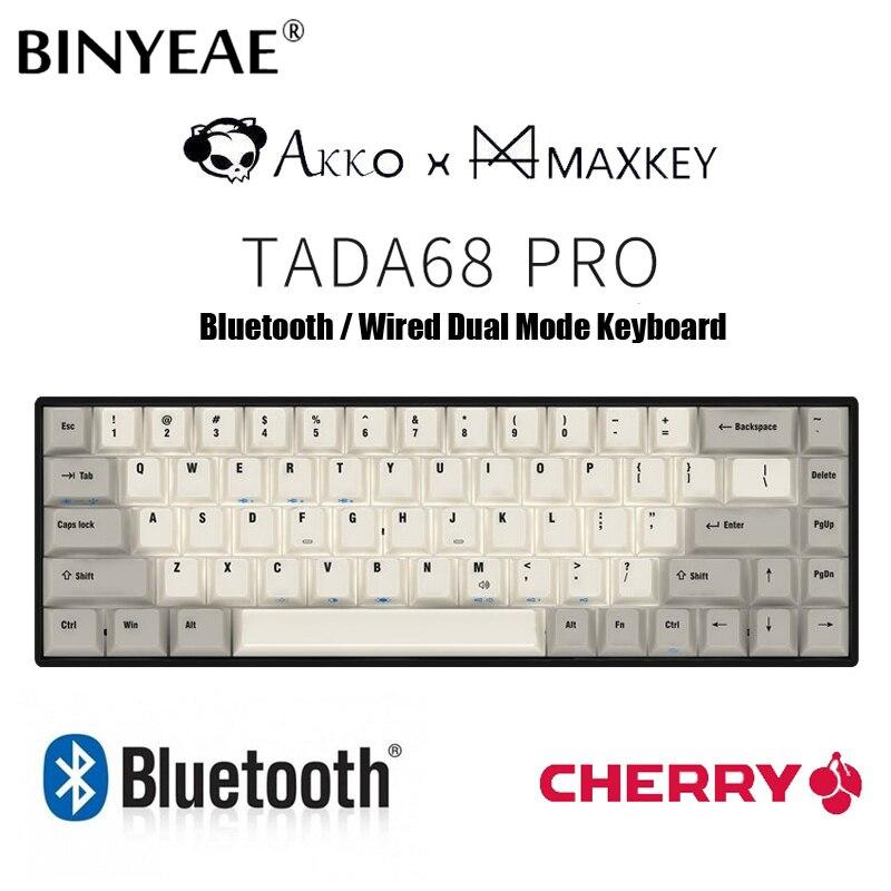 Tada 68 mini klawiatura mechaniczna Bluetooth przełączniki