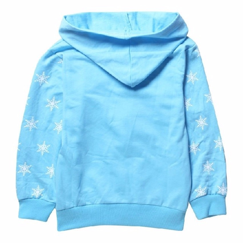 COSPOT Baby Girls Autumn Hooded Coat Girl's 100% Cotton Hoodie 3D Printer Sweatshirt Kids Fashion Cartoon Jacket Sweater 30 1