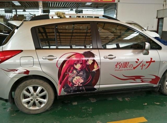 Car Decals Anime