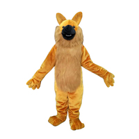 Wolf Custom Mascot Costume Adult Size Cartoon Cosplay Costume With Fan Inside Head For Commercial Advertising promotion
