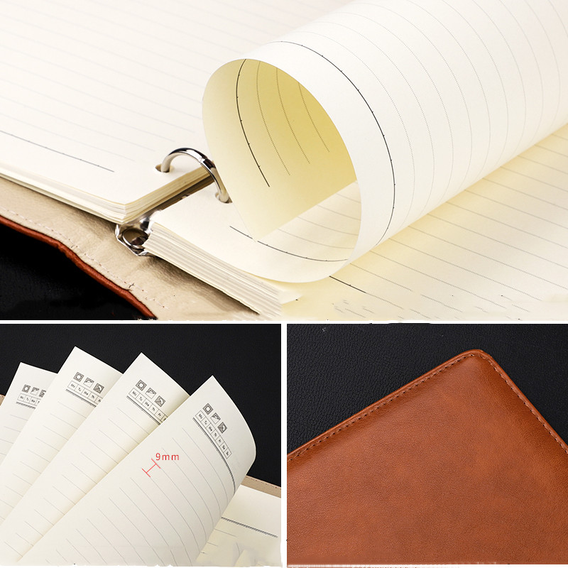 Image 5 - A4 Multifunctional Looseleaf Notebook Business Large Working Meeting Record Diary Office Stationery Supplies-in Notebooks from Office & School Supplies