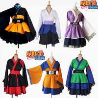 Angepasst Anime Naruto Cosplay Kostüm Uzumaki Naruto Lolita Kleidung Uchiha Sasuke Kimono Kleid Akatsuki Lolita Kleid Frauen 019