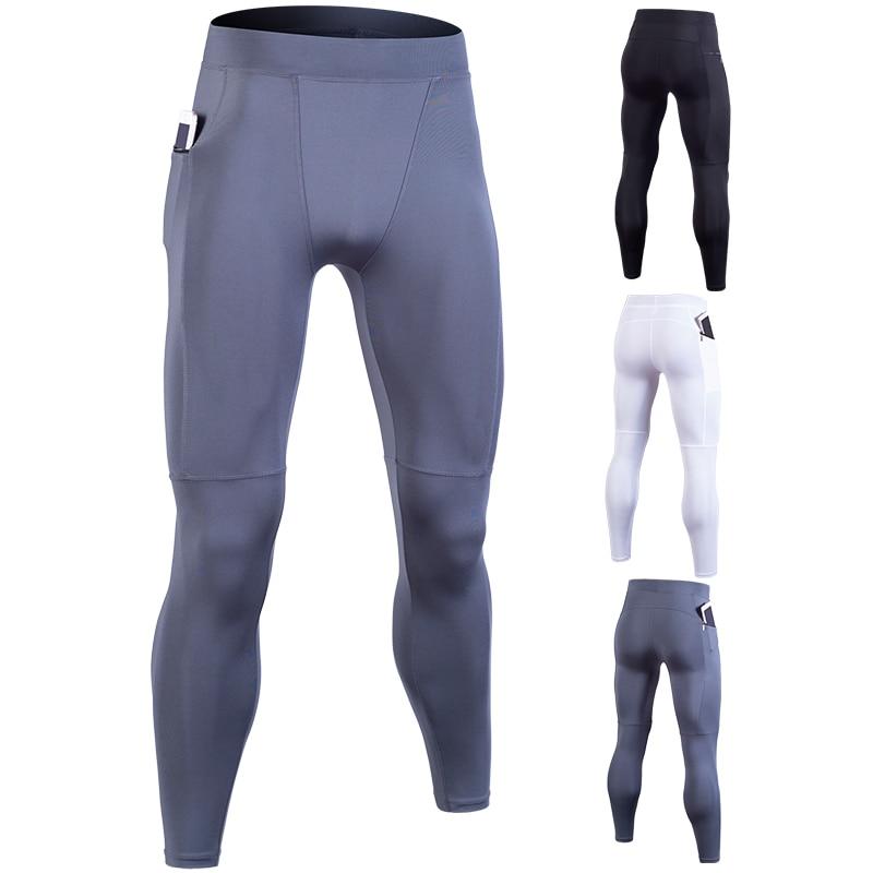 Nova Marca Calças Dos Homens Correndo Calças Justas de Fitness Ginásio Yoag Crossfit Jogger Esportes Leggings Sportswear Jog Calças Elásticas Compre