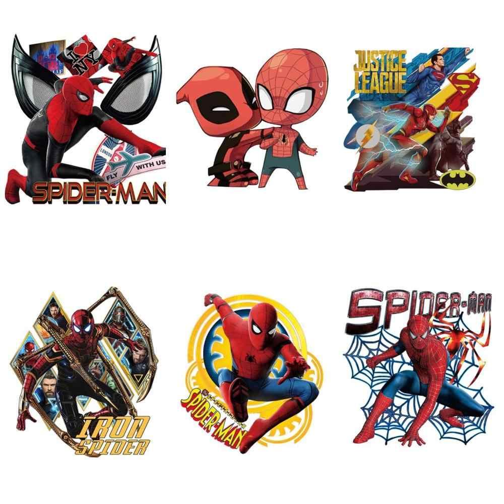 Parche para ropa de Deadpool de dibujos animados bonitos