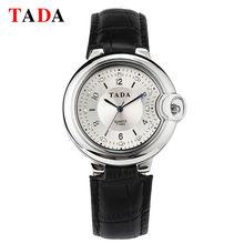 TADA nouveau design de mode dames montres élégant strass femelle quartz femmes petite montre femme bracelet en cuir montre étanche