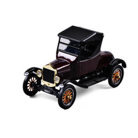 Ford 1:24 1925 Retro Vintage Car Wholesale Honghe Ford Simulation Alloy Model Decoration Toy