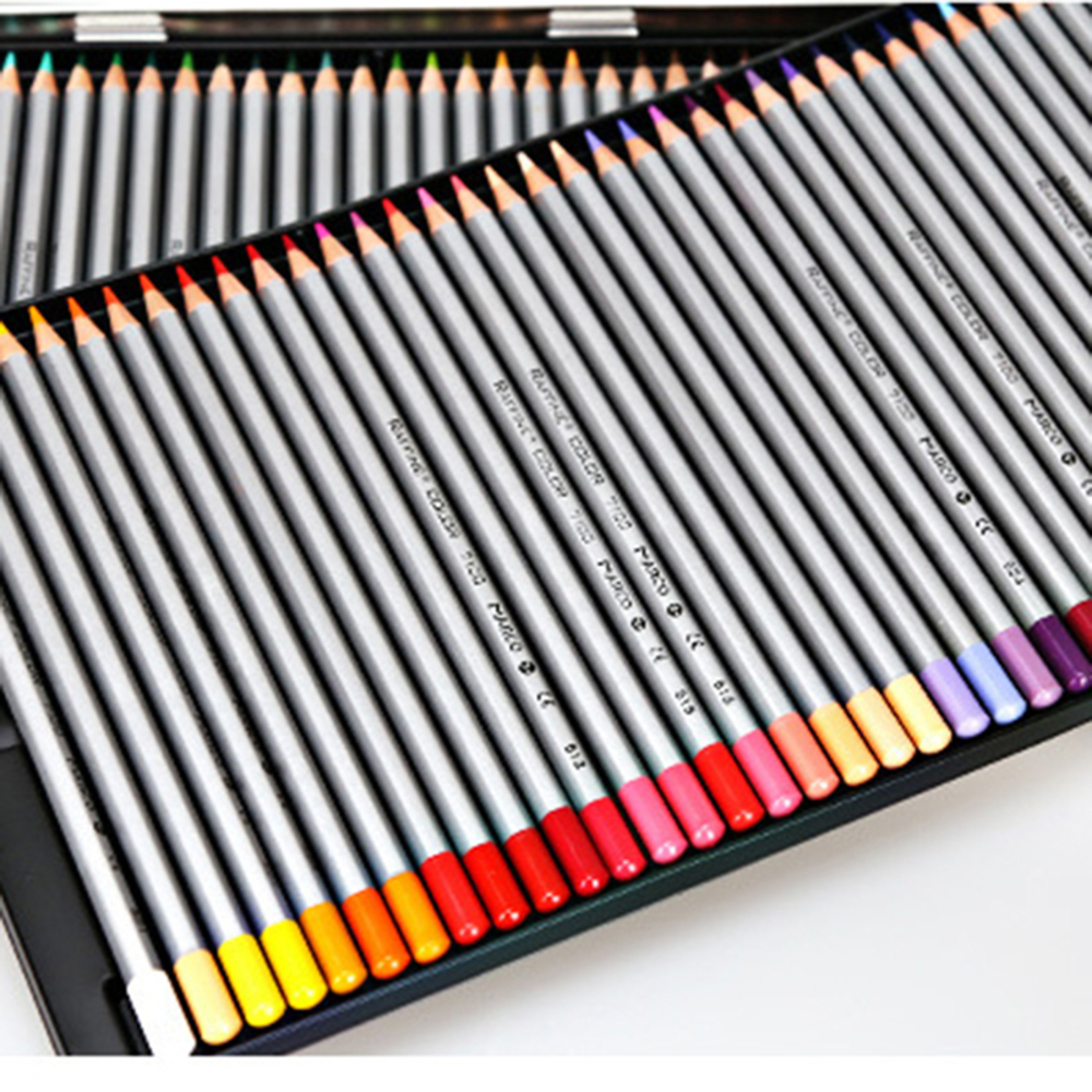 Marco Raffine Fine Art 72 Colors High quality Non-toxic Color Pencil lapis de cor Professional Colored Pencils School Supplies marco raffine fine art colored pencils 24 36 48 colors drawing sketches mitsubishi colour pencil for school supplies