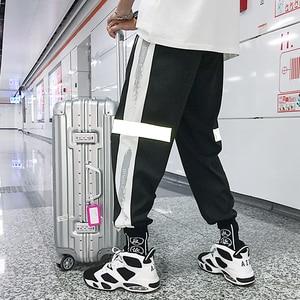 Image 5 - Мужские спортивные брюки, свободные спортивные брюки в стиле хип хоп, брюки шаровары 4XL 5XL
