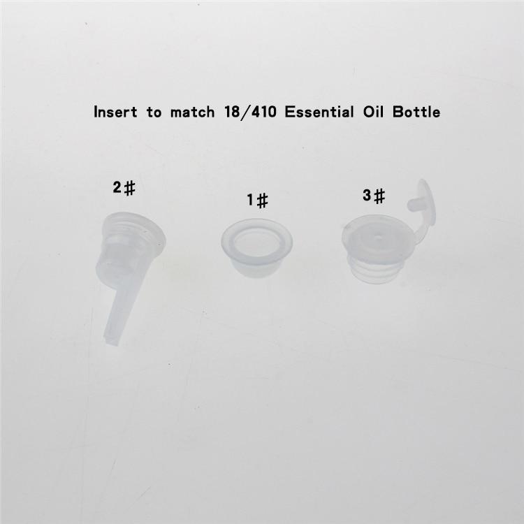 100 copë ari 50ml shishe qelqi luksoz me vaj thelbësor me kapak - Mjet për kujdesin e lëkurës - Foto 3