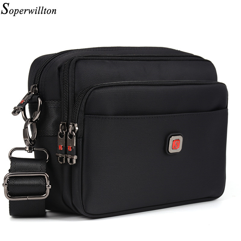 soperwillton men 39 s bag male bag brand bag men oxford messenger bag crossbody man famous brand. Black Bedroom Furniture Sets. Home Design Ideas