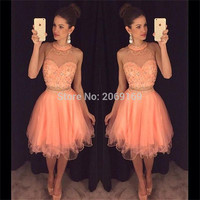 Милые 16 платья сексуальные 2 шт короткие платья для выпускного 2019 Vestidos украшенные бисером короткое платье на выпускной сексуальное платье