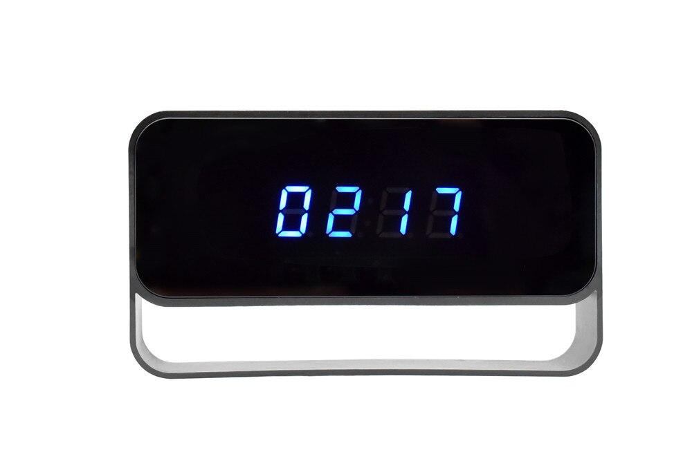 WIFI Mini Camera 1080P Time Alarm CCTV Home Security Clock Wireless Nanny IP Camera P2P IR light Night Vision Motion Detection (10)