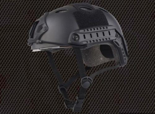 Emes Motorcycle Helmet Tactical Airsoft Helmet W/ Protective Goggles BLACK Low Price Versionhelmet