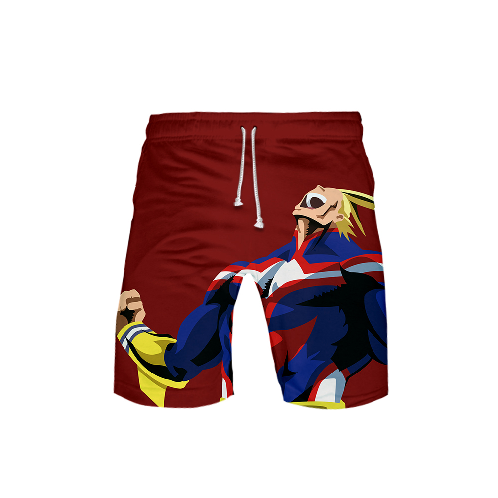 3D My Hero Academic Printed male summer <font><b>shorts</b></font> 2019 Casual summer beach <font><b>shorts</b></font> male Hot sales <font><b>board</b></font> <font><b>shorts</b></font> plus size max <font><b>6XL</b></font> image