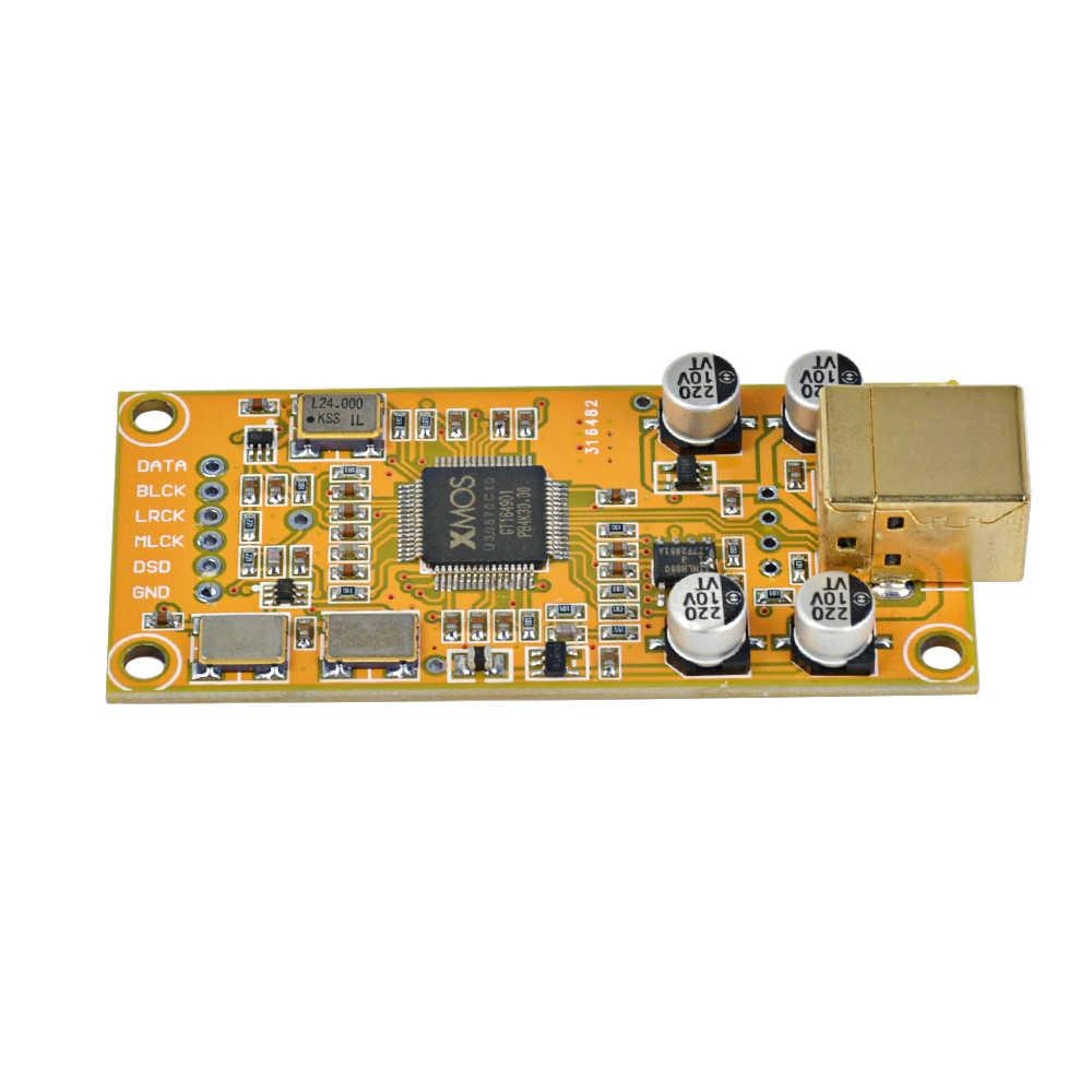 AIYIMA XMOS XU208 Daughter Card Decode Board Support 32BIT 384K ES9018  Decoding Compatible Amanero USB IIS Digital Interface