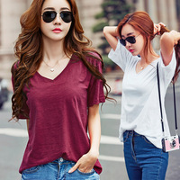 Fashion Women T Shirt Pocket cat Top Tee casual Short sleeve Tops MB017
