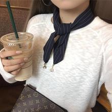 Nouveau arrivé printemps été Petit Foulard Cheveux Cravate De Couleur Belle Pour Les Femmes de Haute Qualité Foulards, femmes cravate, la petite cravate(China (Mainland))