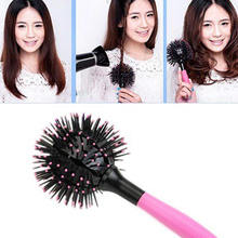 Modern Massage Hair Brush Comb Portable Collapsible Travel Essentials Scalp Massage Plastic Hair Comb Brush Hairdressing