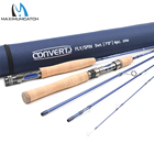 Maximumcatch 7FT/2.1M Travel Spain/Fly Rod 5WT Fast Action Fly Fishing and Spinning Rod with Cordura Tube