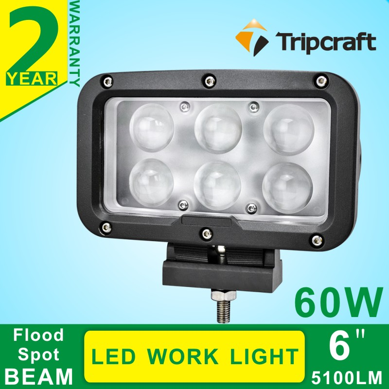 Free Shipping7 Inch 60W LED Work Light for Indicators Motorcycle Driving Offroad Boat Car Tractor Truck 4x4 SUV ATV Spot 12V 24V 18w led work light date running lights driving led bar offroad for indicators motorcycle boat car tractor truck 4x4 suv atv jeep