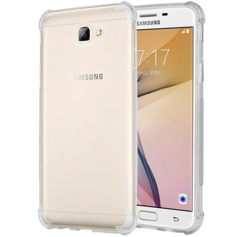 finest selection 6c0f8 bf5ab US $1.99 |for Samsung Galaxy J5 Prime Case for Galaxy J5 Prime Cover  Silicone TPU Shockproof Clear Phone Case for Samsung J5 Prime J5prime-in  Fitted ...