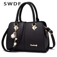 NEW Brand Women Hardware Ornaments Solid Totes Handbag High Quality Lady Party Purse Casual Crossbody Messenger Shoulder Bags