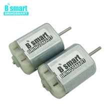 Bringsmart 2pcs FC280 PC 12V Mini DC Electric Motor with High Speed 12500rpm for Electronic Car