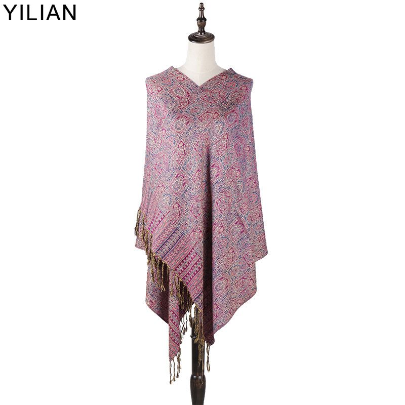 0 23kg YILIAN Brand Classic Print Paisley Weaving cotton Women Head Scarf 2018 Warm Multicolor Fashion Women Scarf Shawl LL006 in Women 39 s Scarves from Apparel Accessories