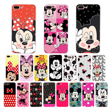 Mickey Minnie Mouse Soft silicone cover For iPhone 6s 6 7 8 plus 5 5S SE XR XS max X cute Cartoon pattern phone case Funda Coque