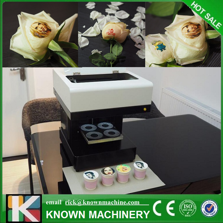 3D Selfie cappuccino coffee printer Upgrade software support client to edit picture in moible phone coffee printer food printer inkjet printer selfie coffee printer full automatic latte coffee printe wifi function