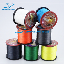 Japan Multifilament PE 4 Weaves Braided Fishing Line 500M Fishing tackle linha multifilamento para pesca All