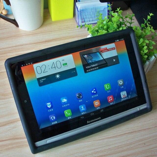 B8000 Case, падение Защиты Амортизация Прочный Силиконовый Чехол Для Lenovo YOGA 10 B8080 10.1 Tablet Case