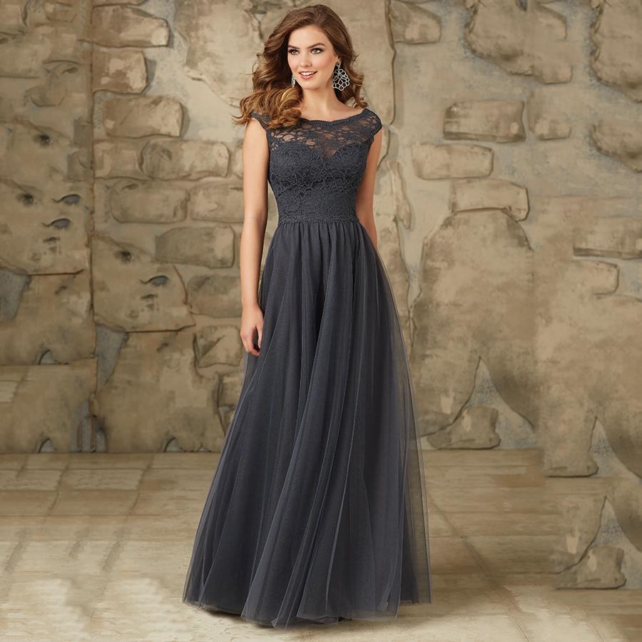 Latest Wedding Gowns 2015: 2015 Latest Gorgeous Lace Bodice Modest Elegant Long