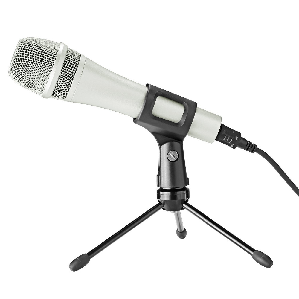 neewer wired handheld vocal dynamic microphone microphone clip usb cable mini desktop tripod. Black Bedroom Furniture Sets. Home Design Ideas