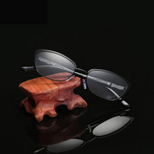 Glas metall kurze anblick occhiali pro lettura oculos bryle trousse maquillage para mujer femme gafas presbicia hombre(China)