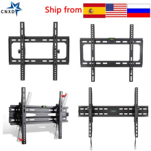 Universal Tilted TV Wall Mount Ultra Slim Tilted TV Monitor Holder TV Frame Bracket for LCD LED Monitor Flat Panel