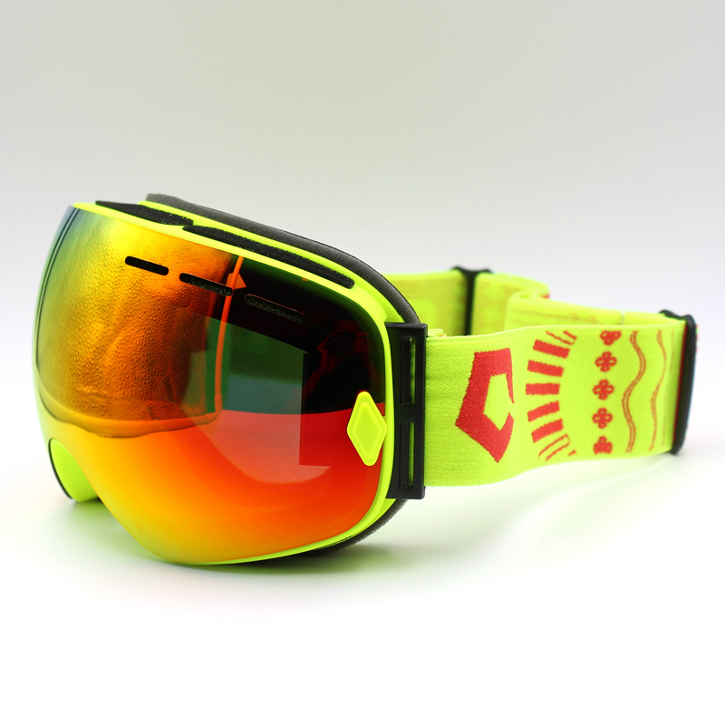 Prix pour Ski Lunettes Double Lentille UV400 Anti-brouillard Ski Lunettes de Neige Ski Snowboard Motocross Lunettes de Ski Masques ou Lunettes